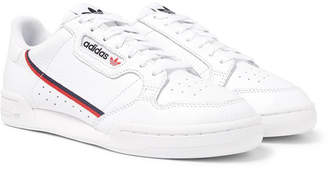 adidas Continental 80 Grosgrain-Trimmed Leather Sneakers - Men - White