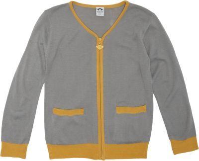 Appaman Tipped Zip Front Cardigan