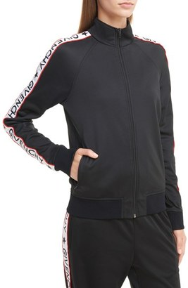 Women's Givenchy Logo Track Jacket $1,340 thestylecure.com