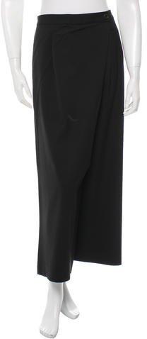 Michael Kors Wool Wide-Leg Pants