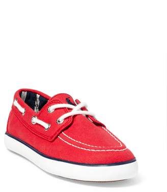 Ralph Lauren Sander Canvas Boat Shoe