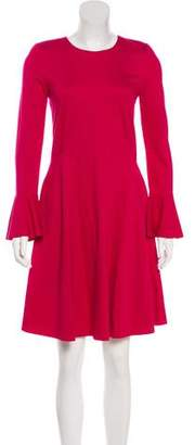 Harris Wharf London Bell Sleeve Knee-Length Dress w/ Tags