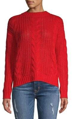 Vero Moda Cable-Knit Crew Sweater