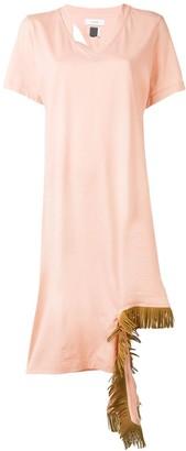 Facetasm fringe detail dress