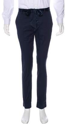ATM Anthony Thomas Melillo Sash-Accented Cuffed Pants