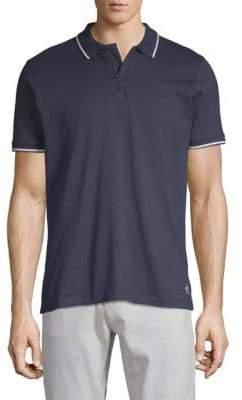 Zipper Cotton Polo