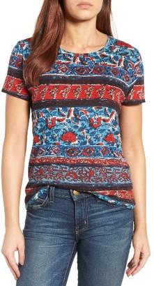 Women's Lucky Brand Americana Print Tee $39.50 thestylecure.com