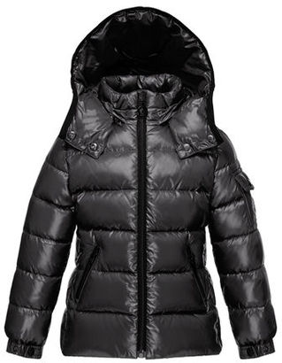 Moncler Bady Quilted Down Coat, Size 4-6 $445 thestylecure.com