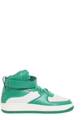 RED Valentino Hight Top Sneakers With Velcro
