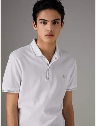 Burberry Cotton Piqué Polo Shirt