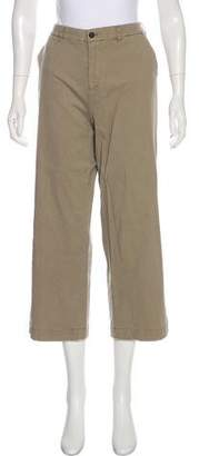 ATM Anthony Thomas Melillo Distressed Mid-Rise Culottes
