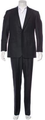 Canali Striped Wool & Mohair Suit