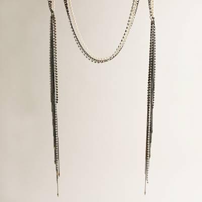 FENTON/FALLONTM for J.Crew lariat tassel necklace