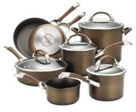 Circulon Symmetry 11-Piece Cookware Set - Induction Ready