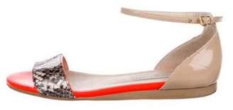 Stella McCartney Vegan Ankle-Strap Sandals