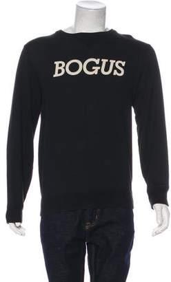Saturdays New York City Graphic Applique Sweatshirt