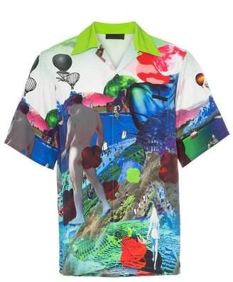Prada printed shirt