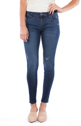 KUT from the Kloth Mia High Waist Distressed Skinny Jeans