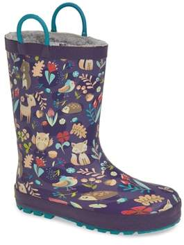 Western Chief Fairytale Faux Fur Lined Rain Boot