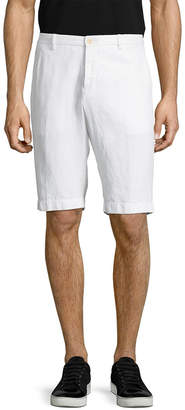 Etro Solid Linen Short