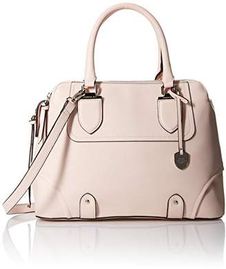 London Fog Camilia Triple Satchel Convertible Cross Body