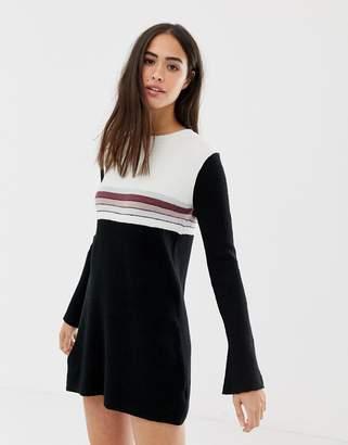 Free People Colourblock jumper dress
