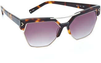 KENDALL + KYLIE Melrose Sunglasses $220 thestylecure.com