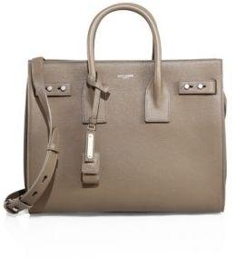 Saint Laurent Small Soft Sac De Jour Leather Tote $2,990 thestylecure.com
