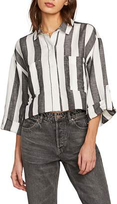 Volcom Stripe N Stone Crop Top
