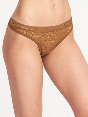 Old Navy Floral-Lace Thong Underwear for Women