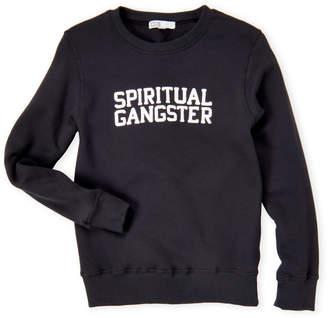Spiritual Gangster Boys 8-20) Logo Soft Fleece-Lined Sweatshirt