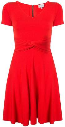 Milly knot detail flared dress