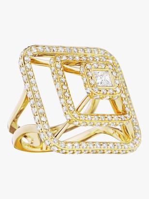 Of A Kind Mimi So Piece Pyramid Diamond Ring