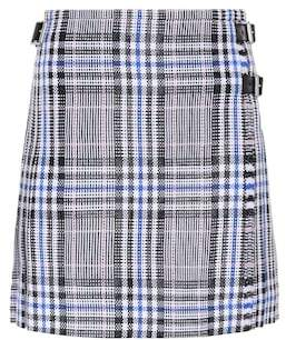 Christopher Kane Check tweed miniskirt
