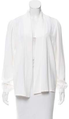 Michael Kors Silk-Blend Draped Kimono