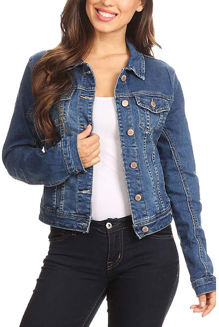 Blue Denim Jacket - Juniors