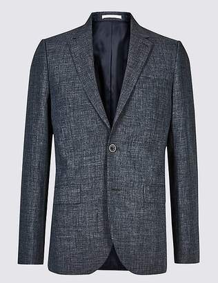 Marks and Spencer Linen Miracle Tailored Fit Jacket