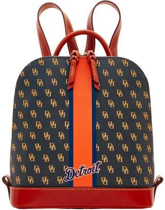 Dooney & Bourke MLB Tigers Zip Pod Backpack