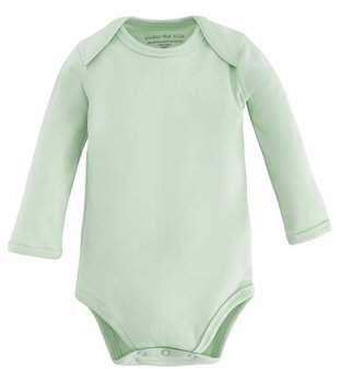 830c85000 Under the Nile Baby Organic Cotton Long Sleeve Lap Shoulder Bodysuit Onesie
