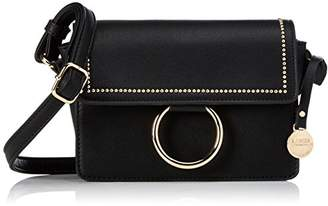 L.Credi Genf, Women's Cross-Body Bag, Schwarz, 7x13,5x19,5 cm (B x H T)