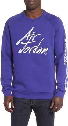 Nike JORDAN JSW Greatest Stats Graphic Sweatshirt