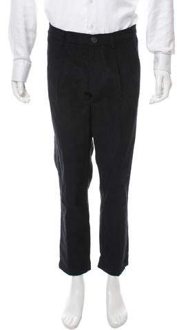Mens Corduroy Pleat Pants - ShopStyle Australia