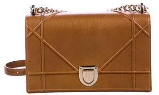 f0e355bca10f Christian Dior Leather Diorama Bag