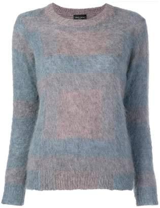 Roberto Collina fuzzy knit sweater