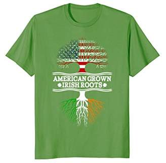American Grown With Irish Roots Awesome T-Shirt Ireland