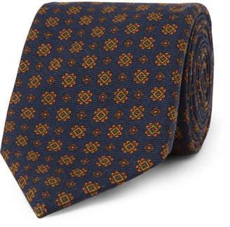 Drakes Drake's - 8cm Wool-Jacquard Tie