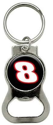 Generic 8 Number Racing Bottle Cap Opener Keychain Ring