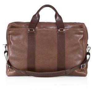 Brunello Cucinelli Leather Travel Bag