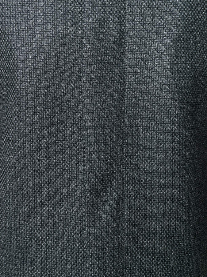 Emporio Armani ribbed collar jacket