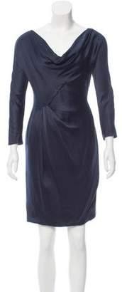 J. Mendel Satin Mini Dress